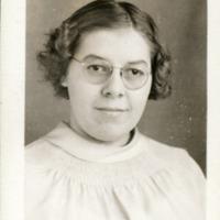 Marie McManus, November 1939