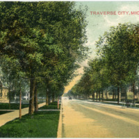 """State Street, Traverse City,"" ca. 1909"