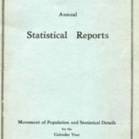 Michigan State Hospitals annual Statistical Reports, Movement of Population and Statistical Details for the Calendar Year of 1931