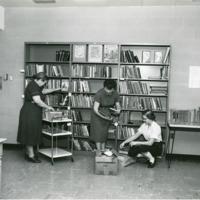 Library Staff of Peninsula Community Library, 1957