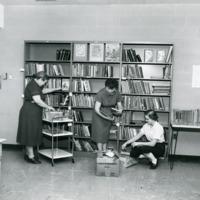 Library Staff, Peninsula Community Library, 1957