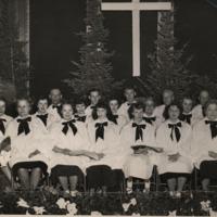 Kingsley church choir, undated