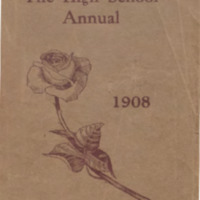 "Traverse City High School Yearbook, ""The Annual"" 1908"