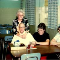 Floyd Webster Retirement Party, 1980