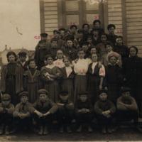 School children, undated
